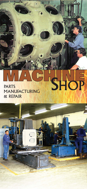 Compressor Machine Shop Parts Manufacturing and Repair